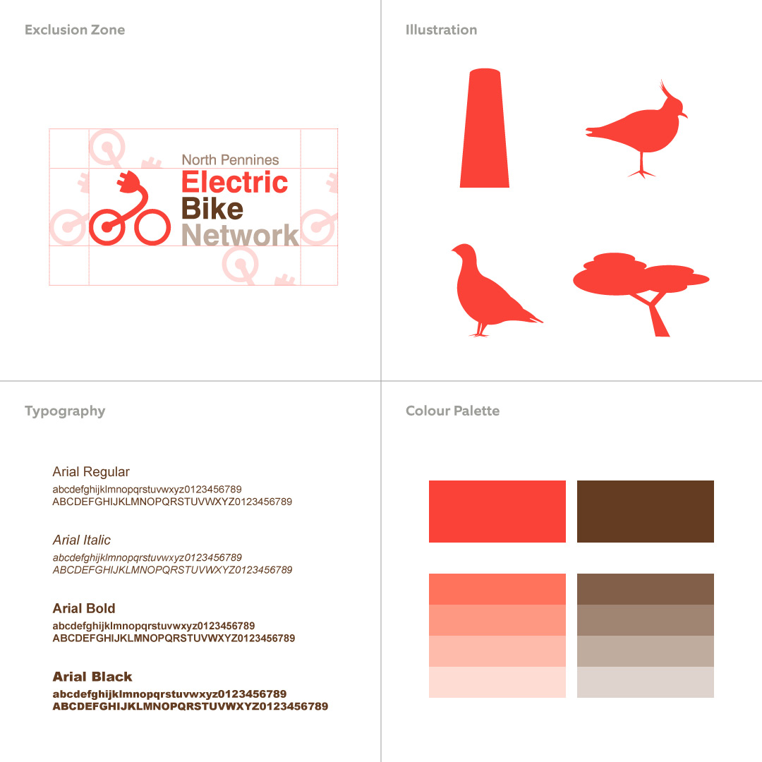 Electric Bike Network Brand And Website For North Pennines